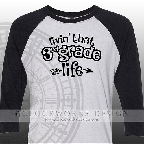Livin that 1st grade life,personalized teacher shirt, womens shirt