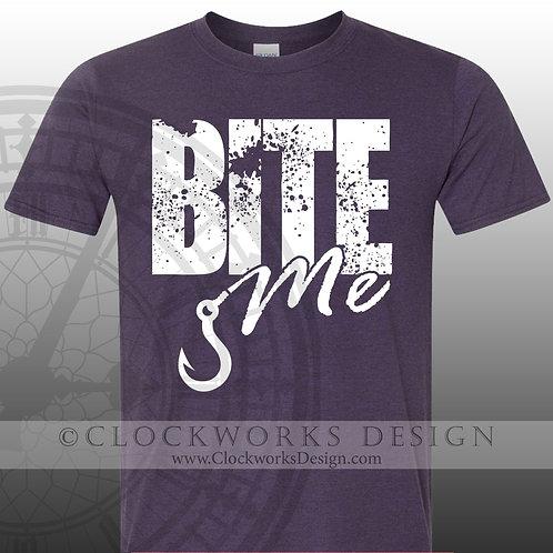 Bite-Me,shirt,shirts-with-sayings,women,men,fishing,lake,ocean,water.summer,fish