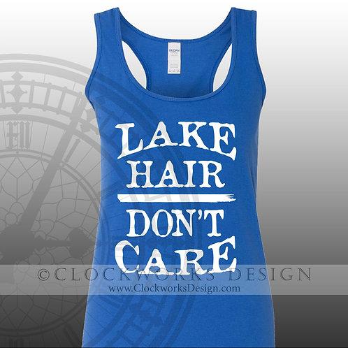 Lake Hair Dont Care,shirt,Shirts with Sayings,lake,swimming,vacation,summer-fun,