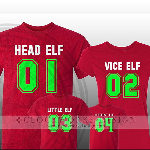Team Elf-Family Shirts, Christmas Shirt, Shirt for Women, Shirt for Men, Elf Shirt, Family Fun Shirts