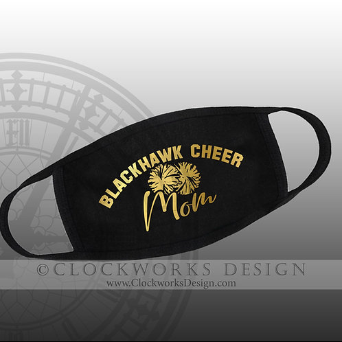 Adrian Blackhawk Cheer Mom Mask