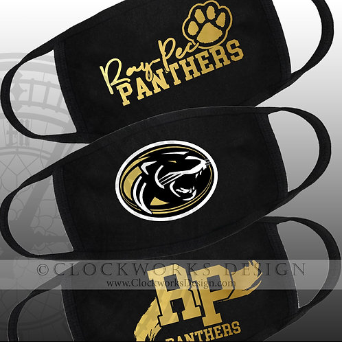 Ray Pec Panthers  Masks
