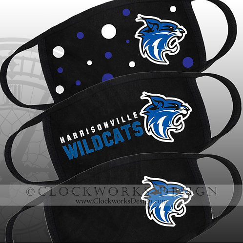Harrisonville Wildcat Masks