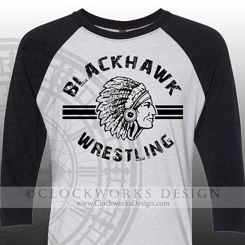 Wrestling Blackhawks shirt,personalized team spirit shirt,shirt for him,shirts