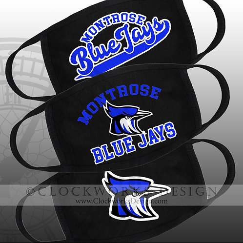 Montrose Blue Jays Masks