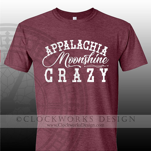 Appalacian Moonshine Crazy,shirt,shirts with sayings,Eric Church,concer,country