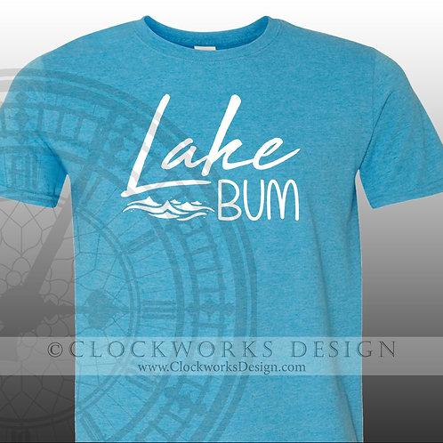 Lake Bum,Shirt,shirts-with-Sayings.lake,water,ocean,vacation,summer,fun-times,dr