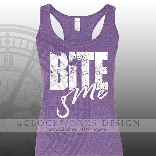 Bite-Me,shirt,shirts-with-sayings,women,men,fishing,lake,ocean,water.tank