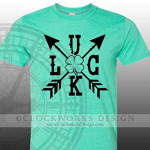 St Patricks Day Shirt,Lucky Arrows, womens, mens shirt,shirt with sayings, saint