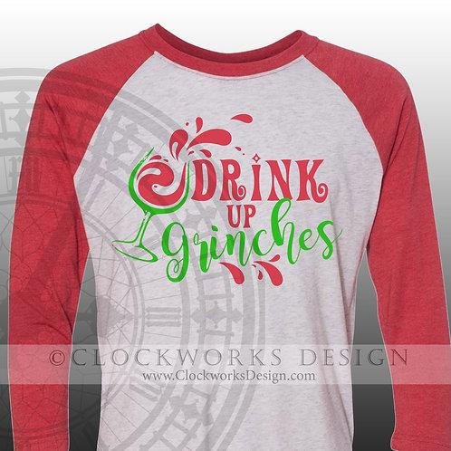Drink Up Grinches Shirt, Christmas Shirt, Shirt for Women, Shirt for Men, Grinch