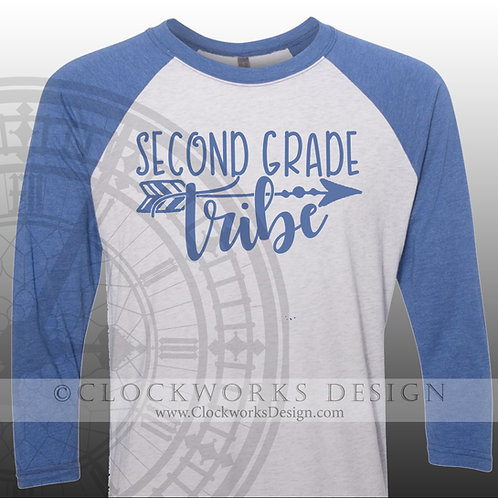 Second Grade Tribe, Personalized,Teacher, Class, Women, Men, shirt,