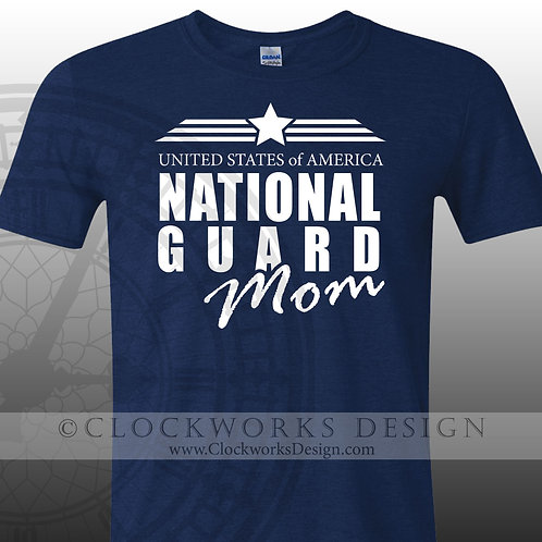 United States National Guard, Personalized, Wife,military, mom, dad, brother