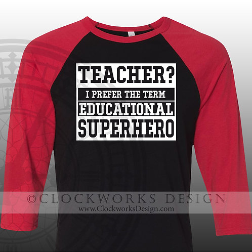 Teacher What is your superpower educational super hero,womens mens shirt