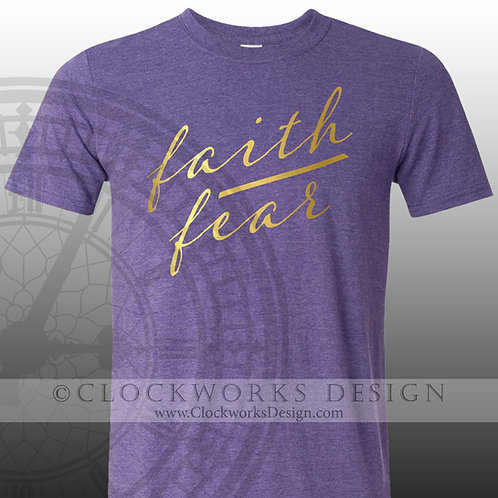 Faith over Fear,shirt for mom,shirts with sayings,shirt for women,shirt,tee