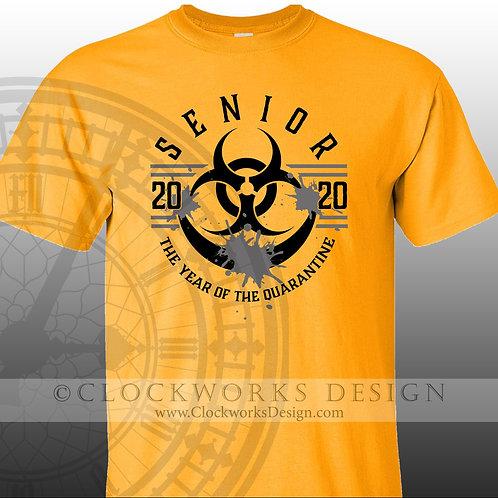 BIO HAZARD Senior Shirt,shirts for class of 2020, year of the quarantine