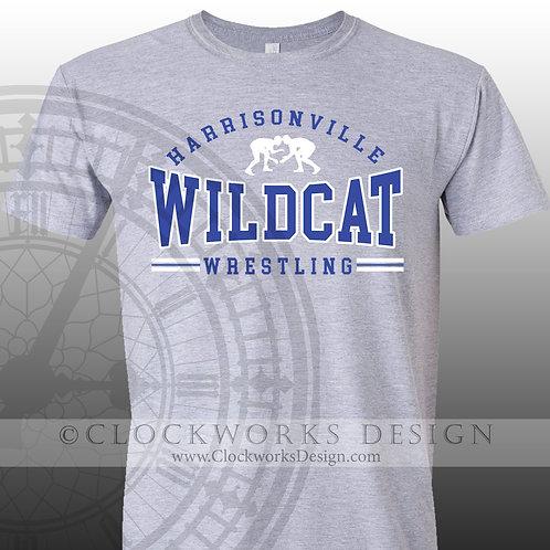 Wrestling Harrisonville Wildcat shirt,personalized team spirit shirt,shirt