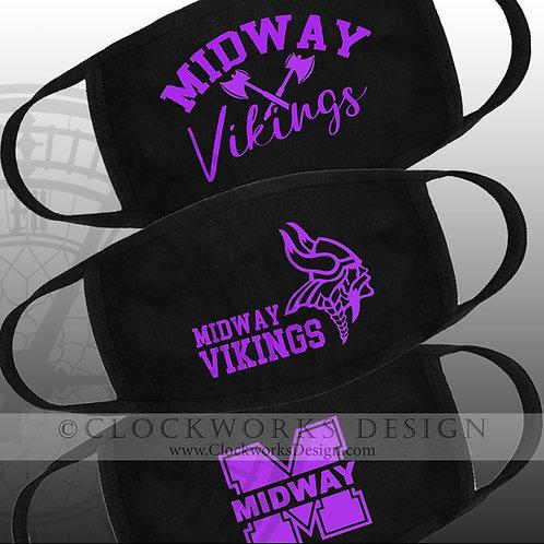 Midway Vikings  Masks