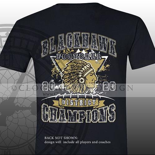 BLACKHAWK FOOTBALL 2020 District Champions