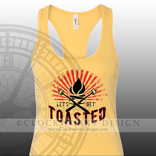 Lets Get Toasted,camping bonfire shirt,shirts,shirts-with-sayings,lake,ocean