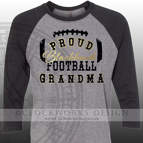 Personalized team,Proud Blackhawk grandma, grandpa, mom,dad,sister,girlfriend