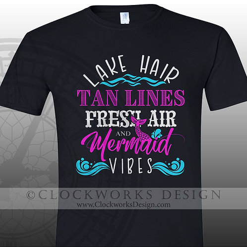 \Mermaid Vibes,shirts,shirts with sayings,lake,ocean,party,relax,shirtsfor-women