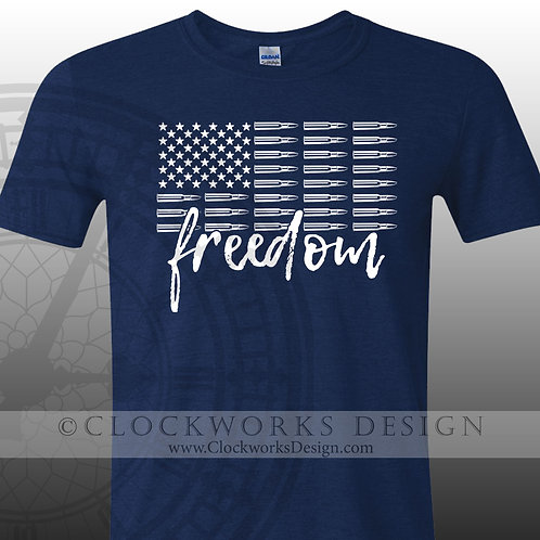 Freedom Bullets,gun rights shirt,shirt with sayings,shirts for him,shirt for her