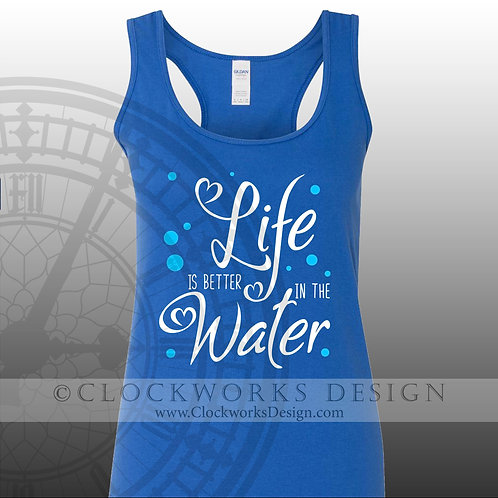 Life is Better at the Lake.shirt,shirts-with-sayings,summer,-lake,beach,fun,swim