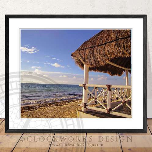 Secluded Paradise   Photography, ocean, beach, photo, print, poster, home decor,