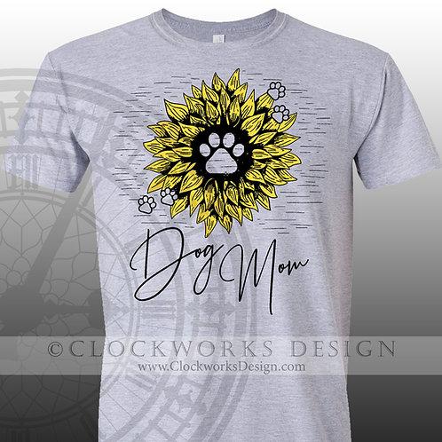 Pets,Dog Mom,sunflower shirt,womens men shirt,shirt with sayings,dog mom