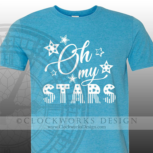 Oh My Stars,shirt,shirts with sayings,4th of July,Independence Day,Fourth