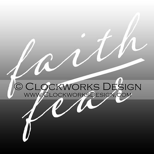Decal,Faith-over-Fear,-Jesus,-Christian,positive,-motivational,-hopeful,