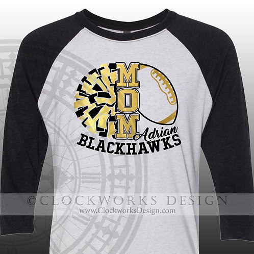 Personalized team,Football mom,Cheer Mom,cheerleader mom,shirt for her,shirts fo
