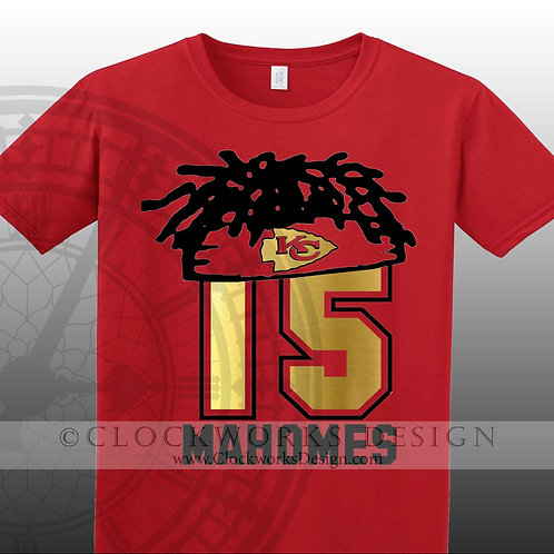 Mahomes Hair Shirt,Patrick Mahomes,Kansas City Chiefs, KC Chiefs Football,Funny