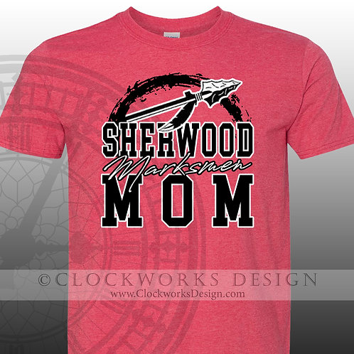 Personalized team,Sherwood Marksman shirt,Mom Shirt,shirt for her,gift for mom