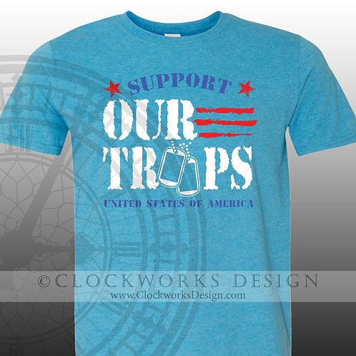 United-States,support our troops,soldier,america shirt,patriotic shirt, military