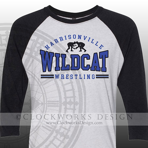 Wrestling Harrisonville Wildcat shirt,personalized team spirit shirt,shirt