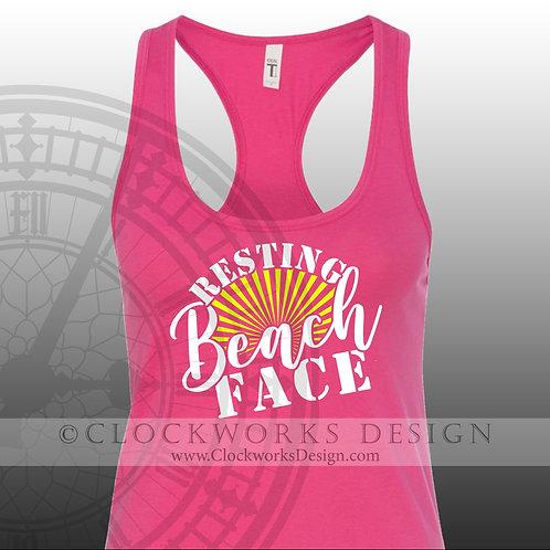 Resting Beach Face,shirt,shirts-with-sayings,lake,ocean,summer-fun,water,boating