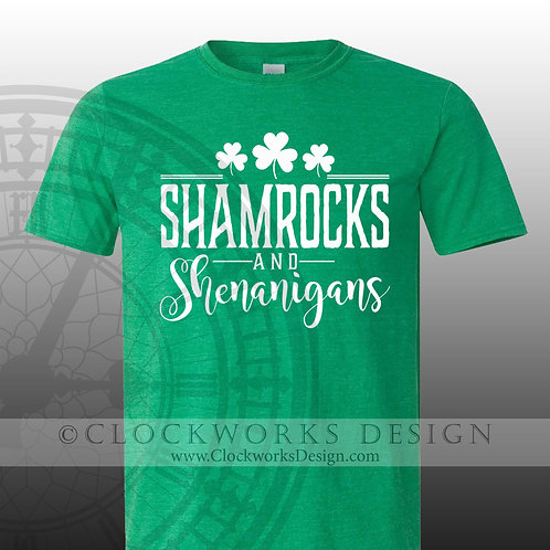 St Patricks Day Shirt,Shamrocks and Shenanigans, drinking, party,shamrock, women