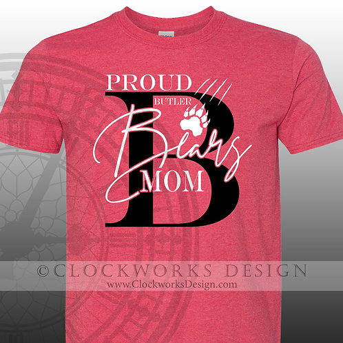 Personalized team,Butler Bears Mom Shirt,shirt for her,gift for mom,mothers day
