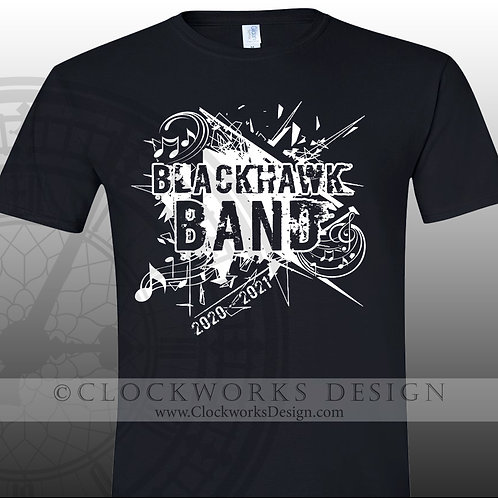 Adrian Blackhawk Band 2020-2021
