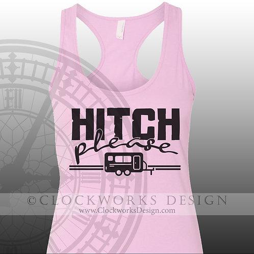 Hitch Please,shirt,shirts-with-sayings,camping,shirt-for-men,shirts-for-women