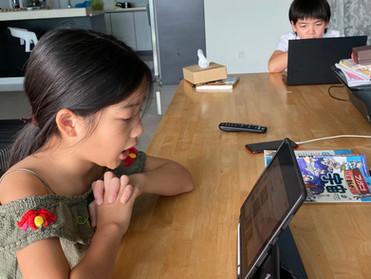 至学館とペナン補習校の日本語交流会