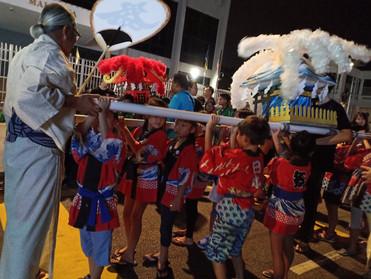 第6回ペナンよさこいパレード水かけ神輿参加