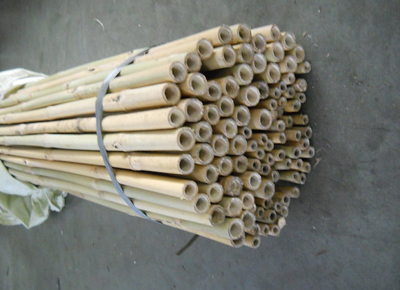 "6' x 18-20mm(3/4"") Natural Bamboo 100/bale"