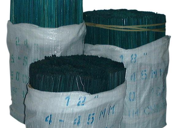 """24"""" x 5-5.5mm(7/32"""") Green Flower Sticks 2500/bale"""