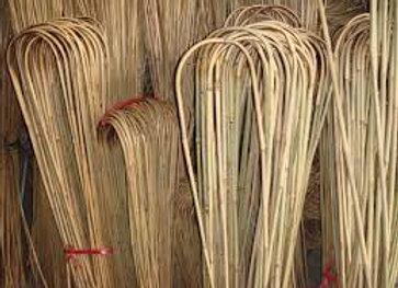 """36"""" Natural Bamboo U-Trellis 100/bale"""