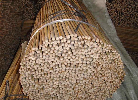 "2' x 6-8mm (5/16"") Natural Bamboo 1,000/bale"
