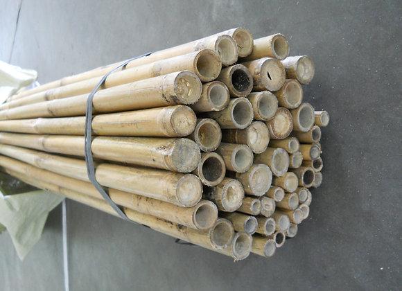 "8' x 22-24mm(7/8"") Natural Bamboo 50/bale"