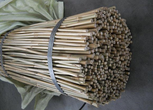 "2.5' x 8-10mm (3/8"") Natural Bamboo 500/bale"