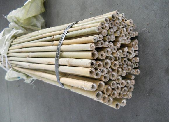 "7' x 15-17mm(5/8"") Natural Bamboo 100/bale"